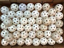46 Plastic Practice Wiffle Baseballs Whiffle Balls Baseball Champion Perforated