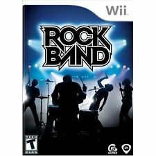 Rock Band Game Only For Wii Music 6E