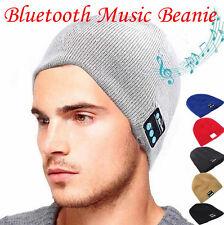Unisex Beanie Mütze Bluetooth Headset Kopfhörer Bluetoothmütze Hut Mützen