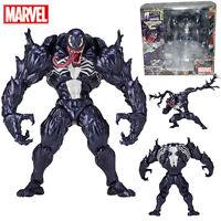 Spider-Man VENOM No.003 Action Figure Yamaguchi Katsuhisa Revoltech Kaiyodo Toy