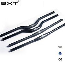 Full Carbon Fiber handlebars 31.8 MTB Mountain Bike Handlebar Bicycle Flat Riser