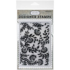 Carta Bella Victorian Floral Clear Stamps, Scrapbooking, Craft Stamping, craft