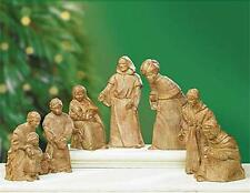 "Abbey Press Christmas ""Holy Night"" Nativity Figurines Set by Donna Weaver"
