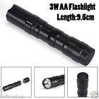 2200LM Mini CREE Q5 7W LED Flashlight Torch Lamp Adjustable Focus Zoom Light AAA