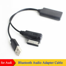 Bluetooth USB AUX in Adapter Cable For AUDI A4 A5 A6 A8 Q7 with AMI MMI 2G High