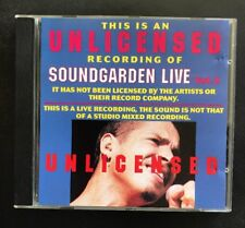 SOUNDGARDEN 'Unlicensed Vol.2' Australian CD Album RARE