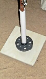 Stand for use with 1/2 inch Copper J-Poles.  FREE SHIPPING