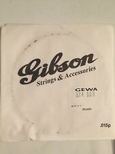 GIBSON NICKEL WOUND ELECTRIC GUITAR STRINGS .022w GAUGE