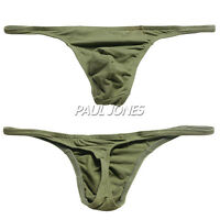 9colors Hipster Mens Underwear Cotton Thongs Low Rise G-string Briefs Underpants