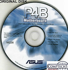 ASUS GENUINE VINTAGE ORIGINAL DISK FOR P4B Motherboard Drivers Disk M226