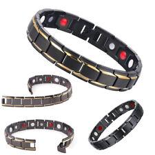 Men Women Therapeutic Energy Healing Bracelet Stainless Steel Magnetic Bracelet