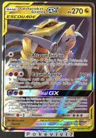 Carte Pokemon CARCHACROK ET GIRATINA 146/236 GX Escouade SL11 FR NEUF
