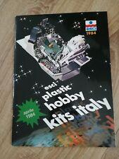 Catalog Esci 1984 Modeling Model Kit Prospekt Brochure Plastic Hobby Modeles