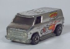 "1974 Hot Wheels Silver Super Van California Cruisin 2.75"" Scale Model Hong Kong"