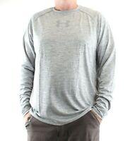 Under Armour Long Sleeve Shirt Fitted Men's Crew Neck HeatGear T-Shirt 1294138