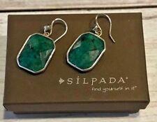 "Silpada Sterling Silver Marcasite Quartz ""Opening Night"" Earrings W2946 NEW"