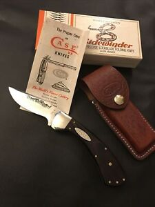 """5-1/4"""" Closed 1981 Case USA """"Side Winder"""" Pat. Pend ~Discontinued Model~ Knife"""