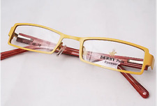 Special New Derby Full Rim Eye Glass Frame-Yellow Any Second One $10 Off Delny