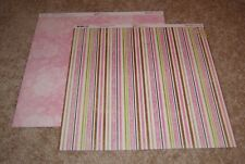 Bo Bunny Double-Sided Paper(2) ~ Sweet Moments Delectable