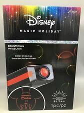 Mickey Mouse Ears Spotlight Yard Projector Countdown Days to Christmas LED NEW