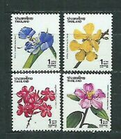 Thailand - Mail Yvert 1421/24 MNH Flowers
