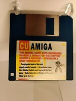 The Sequel Disk, Turrican II and Nebulus II CU Amiga Cover Disk TESTED