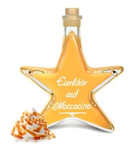 Eierlikör auf Moccacino 0,2L Stern Flasche cremig mit Espresso & Nuss 20% Vol.