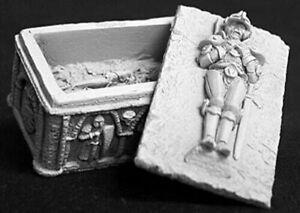 Reaper Miniatures Medieval Sarcophagus #02627 Dark Heaven Unpainted Metal