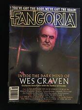 Fangoria #337 Wes Craven November 2014