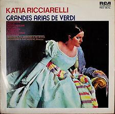 KATIA RICCIARELLI: Grandes Arias de Verdi-M1973LP SPAIN IMPORT