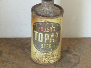KOLLERS.  TOPAZ.  BEER. SOLID.  COLORFUL IRTP. CONE TOP