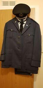 USAF Lt. Col. Peter Verbeck Service Uniform- Hong Kong tailor 1959- bullion cap
