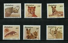 ZIMBABWE, SC 594-599, 1989 Wildlife issue. MOGH.