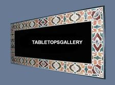 4'x2' Dining Marble Center Side Table Top Handicraft Inlay Arts Decorative H5683