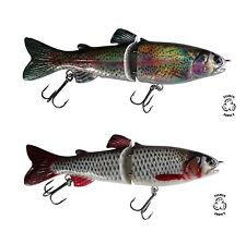 Double Pack Trout and Roach Swimbait 25% off wide swim glide action 7'' / 180mm