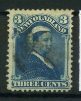 Neufundland 1868 Mi. 33 Gestempelt 80% 3 C, Königin Victoria