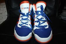 WILSON CHANDLER SZ 14.5 ADIDAS ORANGE BLUE NEW YORK KNICKS PE SHOES ILLWILL
