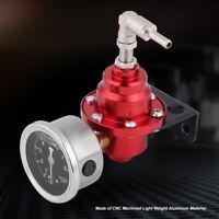 Doseuse Régulateur de pression de carburant réglable Jauge Kit Aluminium 160psi