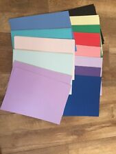 26 A4 Matt Finish Shiny Pieces Of A4 Card- Great Pack Various Colours