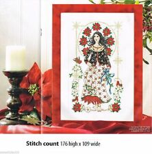 WINTER LADY    -     CROSS STITCH PATTERN    A7L2S
