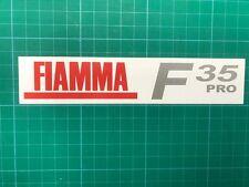 FIAMMA F35 Pro F 35 PRO AWNING ADESIVO DECALCOMANIA GRAFICA STAMPATA Tenda da sole Safari Room