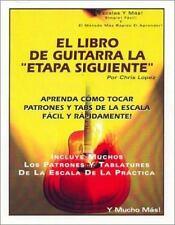 """El Libro de Guitarra la """"Etapa Siguiente"""": Aprenda Como Tocar Patrones y Tabs de"""