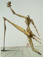 DALI Salvador : ENFER 28 - BOIS GRAVE original  #1960-1963 #DIVINE COMEDIE