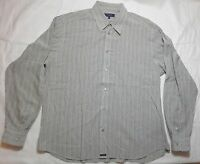 Ted Baker Of London Men's Dress Shirt Long Sleeve Straight Collar Size 5 or XL