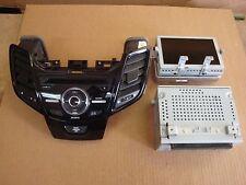 """2014 Ford Fiesta Factory Navigation Nav Sony Radio 6.5"""" Screen Reciever Bezel"""