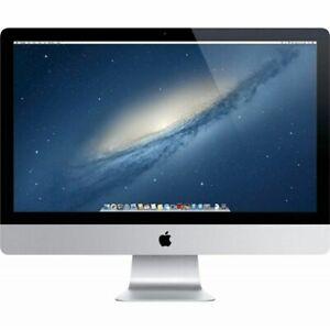"""Apple iMac A1418 i5-33355 8GB RAM 1TB OS X Nvidia GeForce GT 21.5"""" EX-DISPLAY au"""
