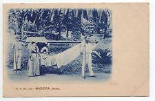 PORTUGAL MADEIRE Madeira rede carte 1900 bleutée