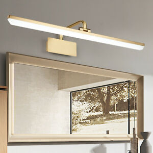 LED Wall Surfaced Mount Fixture Mirror-up Front Makeup Picture Light Adjustable