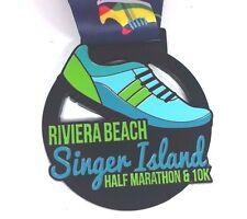 Riviera Beach Singer Island Half Marathon & 10K Finisher Medal 2016