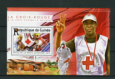 Guinea 2015 MNH Red Cross Fight Against Malaria 1v S/S Medical Health